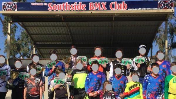 BMX club under fire for confederate flag