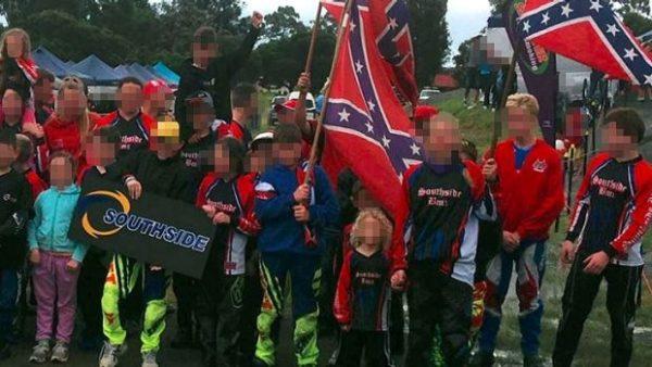 BMX club to remove confederate flag