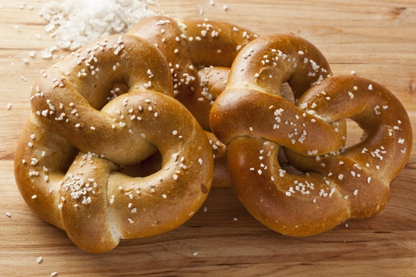 Article image for Soft Salted Rosemary Pretzel