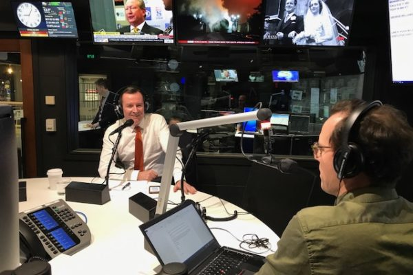 Premier Mark McGowan on Mornings