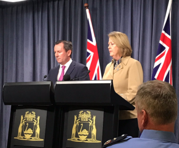 Premier slams Police Union
