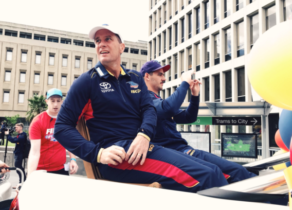 AFL Grand Final parade underway