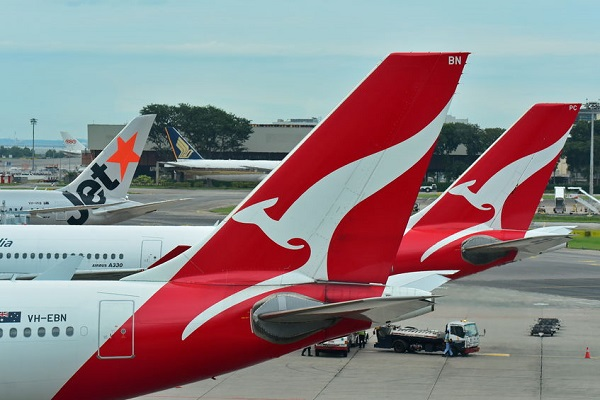 Qantas resource flight revenue down $225m