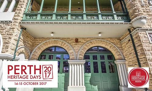 Perth Heritage Days 2017