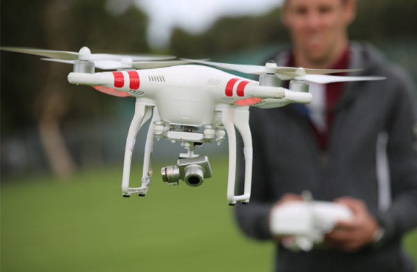 Drone complaints on the rise