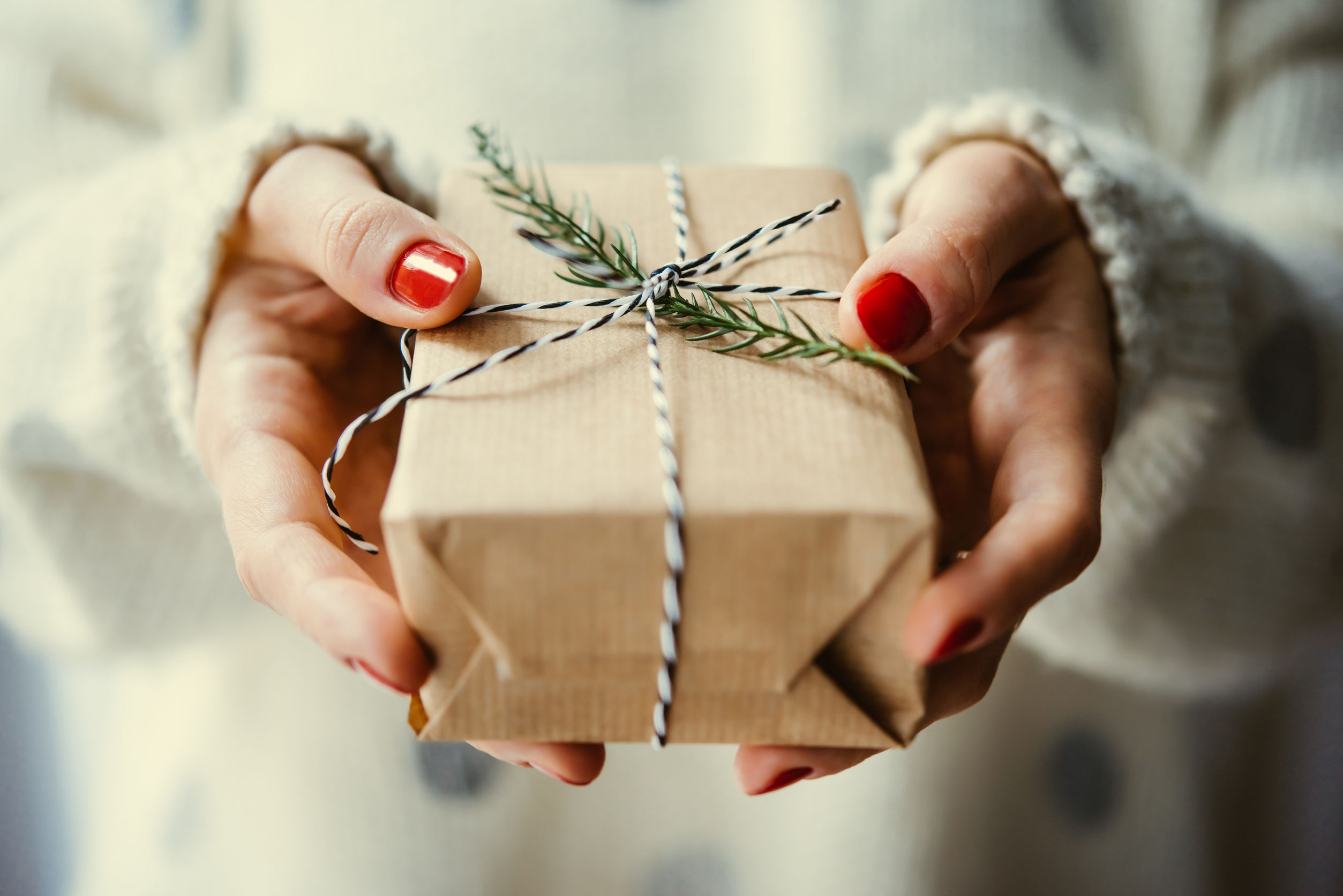 Reduce clutter and rethink Christmas presents