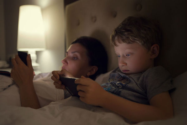 Sleep deprived phone addicts are more likely to have an accident