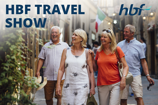 Top tips for older travellers – HBF Travel Show
