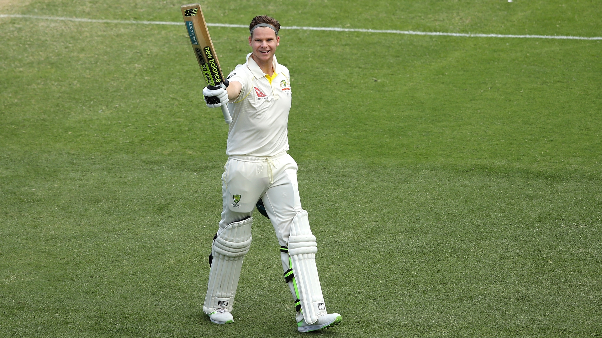 Article image for Warner's praise for two key teammates after 10-wicket win