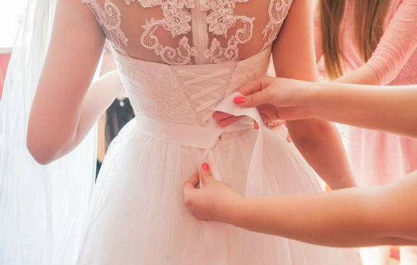 Article image for The beautiful thing Jane Gaspar is doing with her old wedding dress