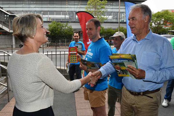 Article image for He's back: John Alexander defeats Kristina Keneally in Bennelong by-election