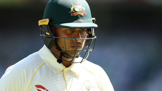 Article image for Khawaja hits out at 'bizarre' criticism