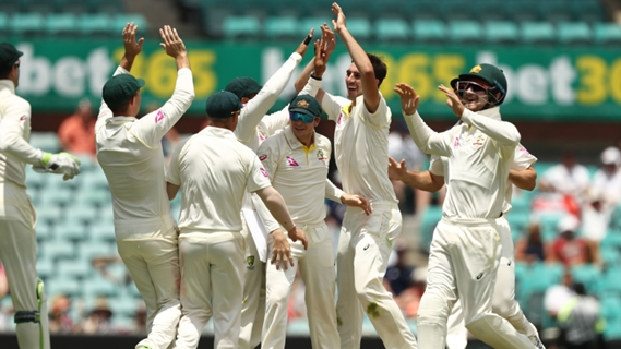 Australia finally win the toss, but lose early wickets