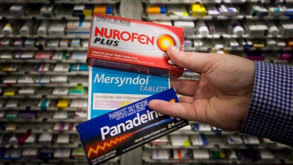 Article image for Codeine sales slashed in half