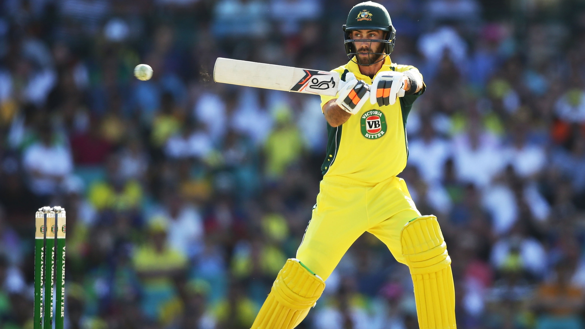 Article image for Maxwell overlooked as Australia include Lynn