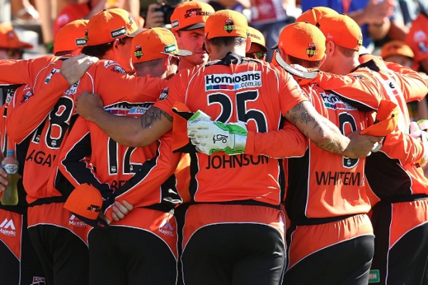 Scorchers down a player