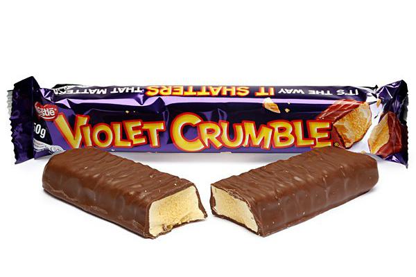 Violet Crumble back in Australian hands