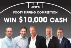 The 2018 6PR Footy Tipping Competition