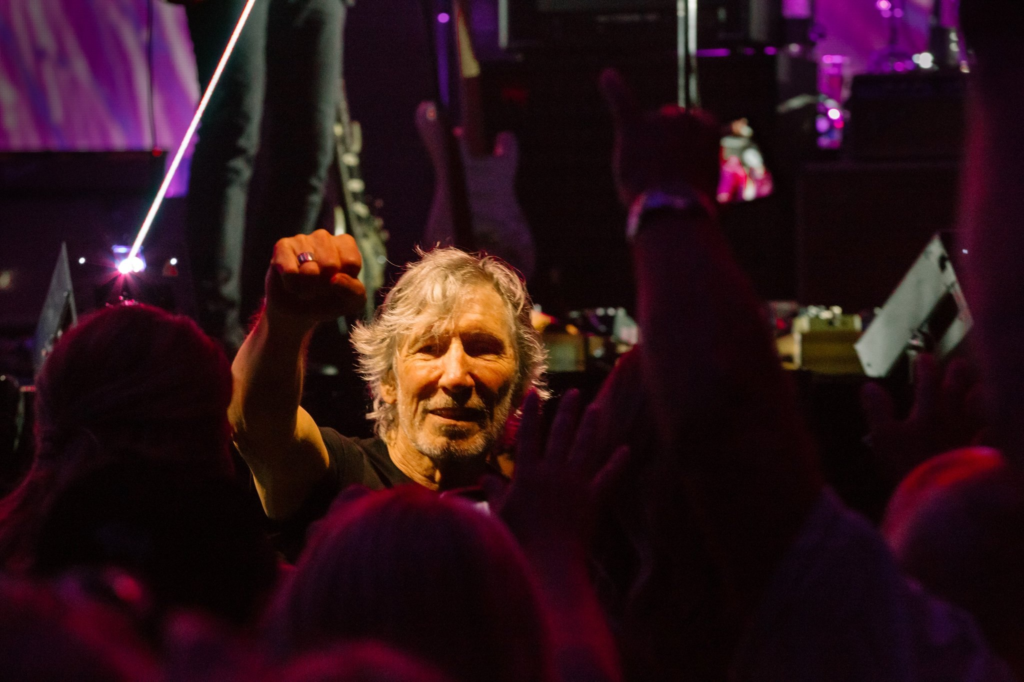 Roger Waters: 'People don't go into rock and roll bands for the art, old boy'