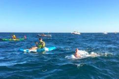 Far away farmer enters Rotto Swim