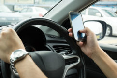 Demerit increase for texting drivers?