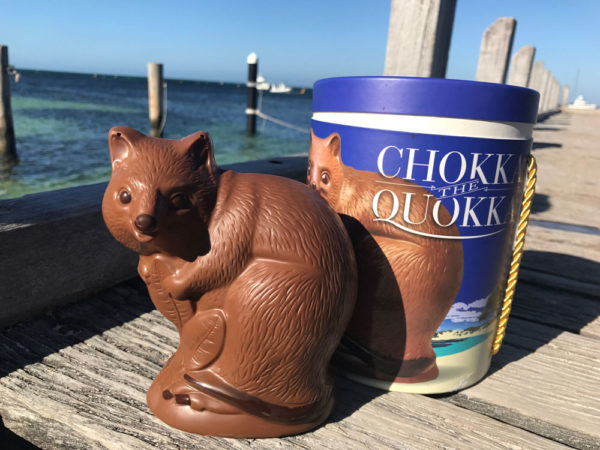A chocolatier and a quokka at Easter