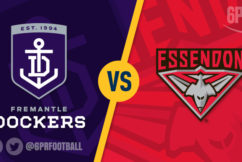 Freo look at home with win over Bombers