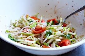 Fresh Finesse – Thai Style Apple Salad