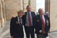 Atomic veterans denied DVA gold card