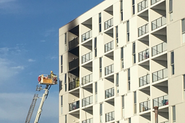 WOTS Confirmed: Aparments 'on fire' in Cannington