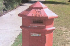 Heritage registered post on its way