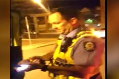 Police officer stood aside after tasering incident