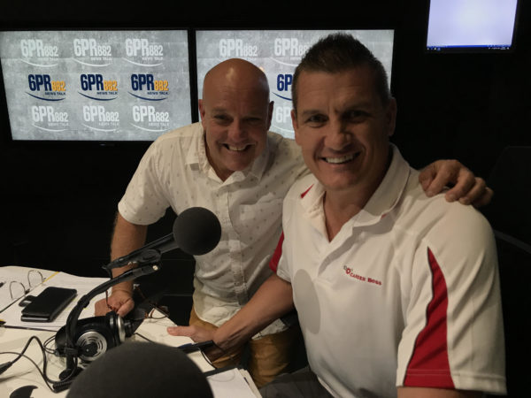 Article image for Footy if BACK! AND Glen Jakovich is back on Afternoons