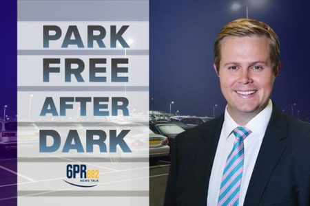 Oliver Peterson's free parking after dark campaign