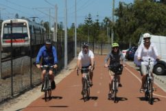 Unfinished bike path prompts cyclist to run for Cottesloe by-election