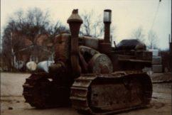 Tractors link to bygone era