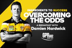 Join 6PR for breakfast with Damien Hardwick