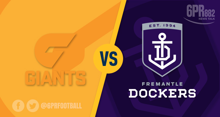 Article image for Giants stamp a win over the Dockers