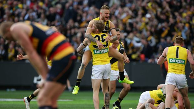 Article image for Tigers reach the Grand Final