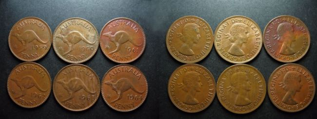 Antiques and collectibles – coins and pennies