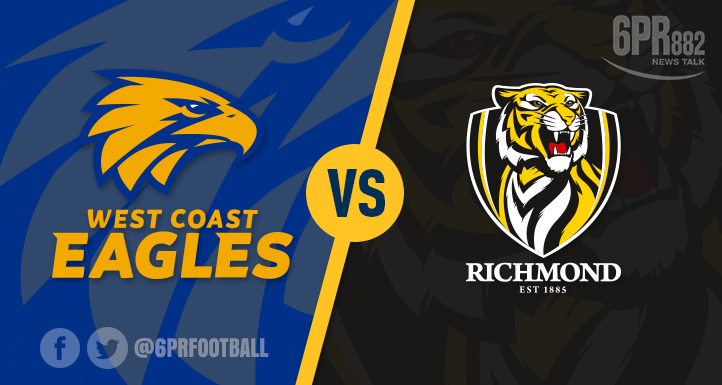 Article image for Eagles soar past Richmond to top of AFL Ladder