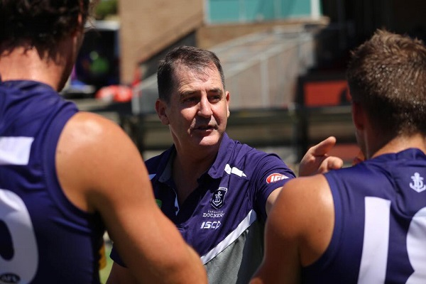 Article image for We Love Him: Hill says of Ross Lyon