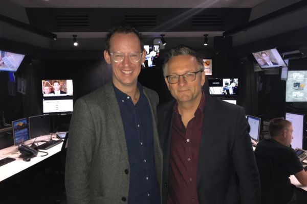 Michael Mosley on his way back to Perth