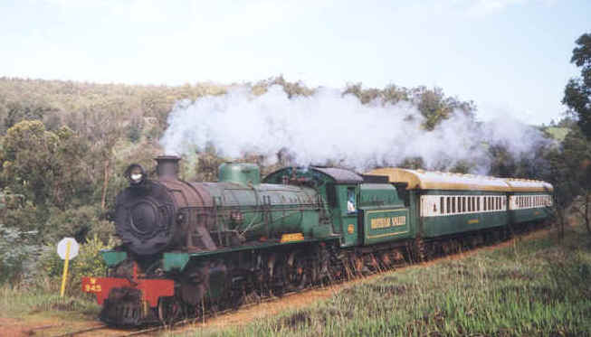 Hotham Valley Tourist Railway exhibition
