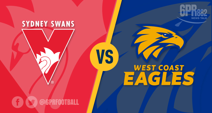 Article image for Swans stop Eagles streak