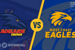Early Crow? Adelaide hand West Coast 3rd loss in a row