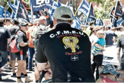 CFMMEU fined over worker threats