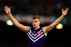 Freo big man Sean Darcy looking good