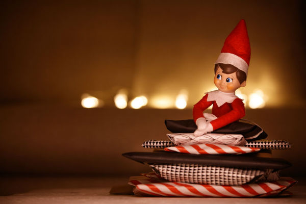 Elf on the shelf warning