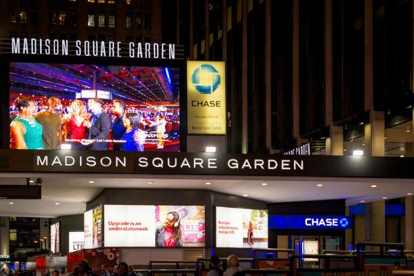 Who set the Madison Square Garden record